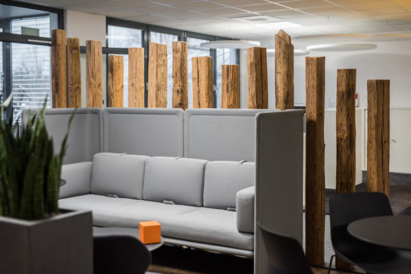 High Back Sofa für informelle Besprechungen