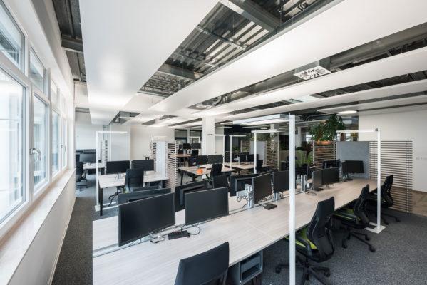 Offene Büroflächen