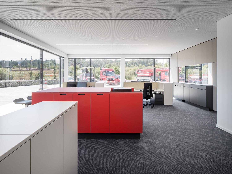 Offene Bürogestaltung